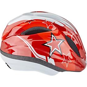 KED Meggy II Helm Kinderen, red stars